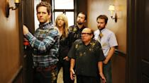 <p> <strong>Number of episodes (so far):&#xA0;</strong>154 </p> <p> It&#x2019;s Always Sunny in Philadelphia made history as the longest-running live action comedy series of all time. Not every season is perfect, but it comes pretty close. It&#x2019;s the story of four morally reprehensible friends who own a bar: Charlie (Charlie Day), Dennis (Glenn Howerton), Dee (Kaitlin Olson) and Mac (Rob McElhenney). Plus, slightly later on, actual Danny Devito is a main character. It&#x2019;s Always Sunny<em>&#xA0;</em>is an absurd, dark, hilarious examination of morality that mostly comes out on the right side of history. </p> <p> Its characters are utterly selfish, eschewing any moral progression in the pursuit of whatever they feel like they want that day. Their escapades take them to the darkest pits of humanity, and, while they&#x2019;re often punished for their behaviour, they do it all over again tomorrow. It has a lot of episodes, most of which are hilarious, and if nothing else it&#x2019;ll make you feel better about making bad decisions like staying in bed all day or forgetting to call your family. &#xA0; </p>