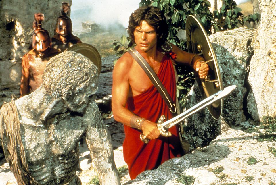 Harry Hamlin as Perseus in the 1981 action movie, 'Clash of the Titans' (Photo: Courtesy Everett Collection)
