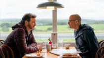 This heart-breaking British drama follows Colin Firth and Stanley Tucci as a couple who have been together for 20 years. When Tucci's character, Tusker, is diagnosed with dementia, they travel across Britain in an attempt to make memories before Tusker passes away. This was another huge hit at the London Film Festival. (Credit: Studiocanal)