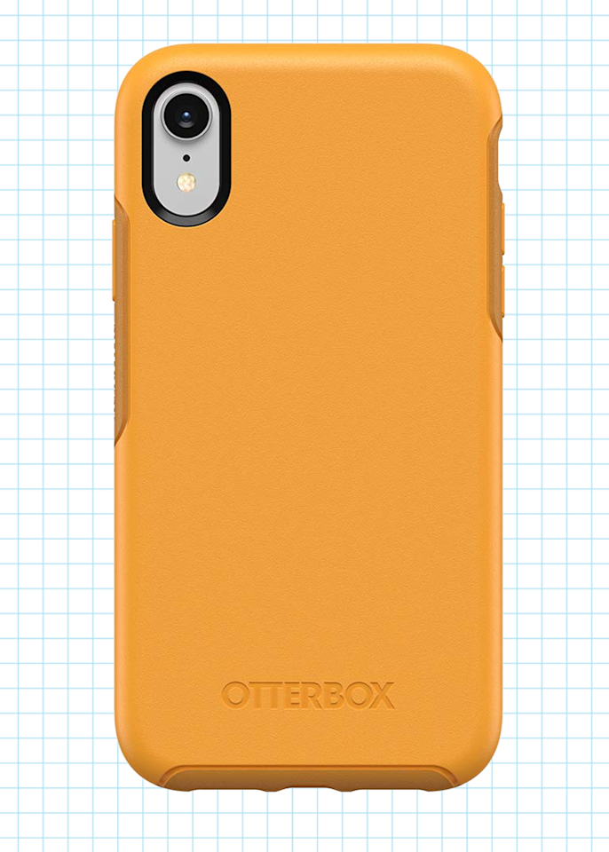 """<p><strong>OtterBox</strong></p><p>amazon.com</p><p><strong>$29.99</strong></p><p><a href=""""http://www.amazon.com/dp/B07GBXFRFP/?tag=syn-yahoo-20&ascsubtag=%5Bartid%7C10055.g.28207275%5Bsrc%7Cyahoo-us"""" target=""""_blank"""">Shop Now</a></p><p>The Otterbox Symmetry gives you the same level of protection you've come to expect from the <a href=""""https://www.otterbox.com/en-us/defender-series"""" target=""""_blank"""">Otterbox Defender Series</a>, only this time without the added bulk. The<strong> ultra</strong> <strong>slim yet protective design</strong> is perfect for carrying your phone in your pocket. The Symmetry Series also has a wide range of color and style options including the <a href=""""https://www.popsockets.com/collections/otter-pop-phone-cases/products/otterpop-white-marble"""" target=""""_blank"""">Otter + Pop</a> iPhone case, which comes with a swappable Pop Socket for easy gripping - meaning, there will be a smaller chance of dropping it on your face while in bed.</p><p><strong>Available for:</strong>  iPhone 7/8, 7/8 Plus, X, XS, XS Max, and XR; Samsung Galaxy S8, S9, S10, S10+, Note 9, and other older models; Pixel 2XL, 3, 3XL, 3a, and 3aXL </p>"""
