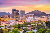 """<p><strong>$250,294</strong></p><p>""""Way more affordable than booming Phoenix, you can easily afford homes here at almost 2,000 square feet,"""" says Pendleton. The perpetually warm weather is also a massive draw.</p>"""