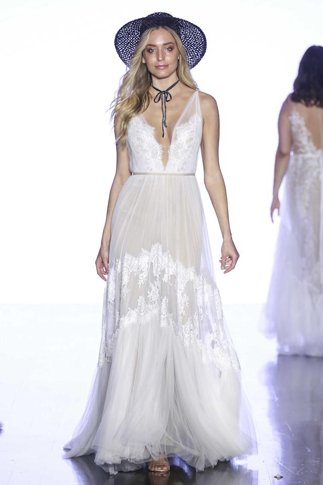 Wedding dress by Willowby by Watters.