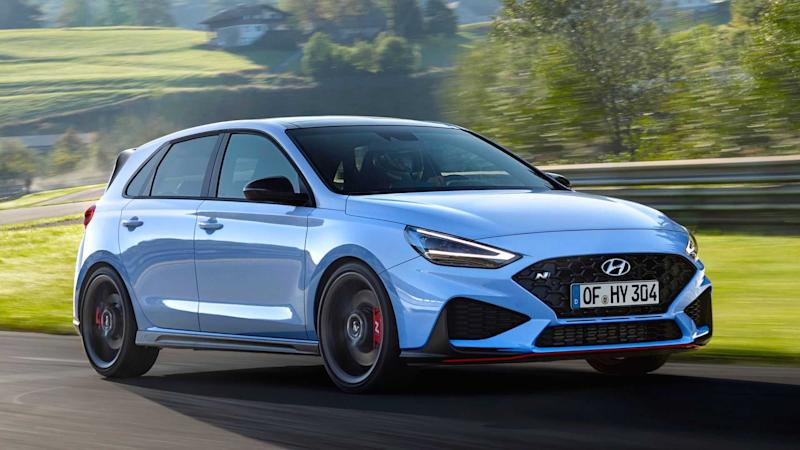2021 Hyundai i30 N debuts with sharper exterior and eight-speed DCT
