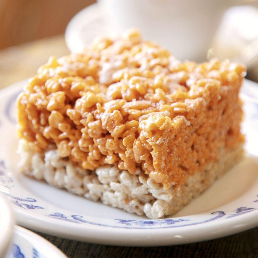 "<p>Kids and adults alike will ask for these family-friendly treats year after year.</p><p><em><a href=""https://www.thepioneerwoman.com/food-cooking/recipes/a33565250/pumpkin-spice-cereal-treats-recipe/"" rel=""nofollow noopener"" target=""_blank"" data-ylk=""slk:Get the recipe from The Pioneer Woman »"" class=""link rapid-noclick-resp"">Get the recipe from The Pioneer Woman »</a></em></p>"
