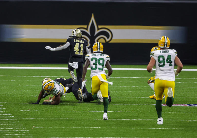 In The Loop: Kamara's jaw-dropping TD, Heat celebrate conference finals win