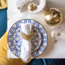 """<p>The new moon marks the start of Eid and the beginning of Shawwal, the tenth month in the lunar-based Islamic calendar. Cute accessories like crescent napkin rings and nesting salt and pepper shakers by <a href=""""https://rasm.co/"""" rel=""""nofollow noopener"""" target=""""_blank"""" data-ylk=""""slk:Rasm Co"""" class=""""link rapid-noclick-resp"""">Rasm Co</a>. can transform your everyday table into a holiday celebration.</p>"""
