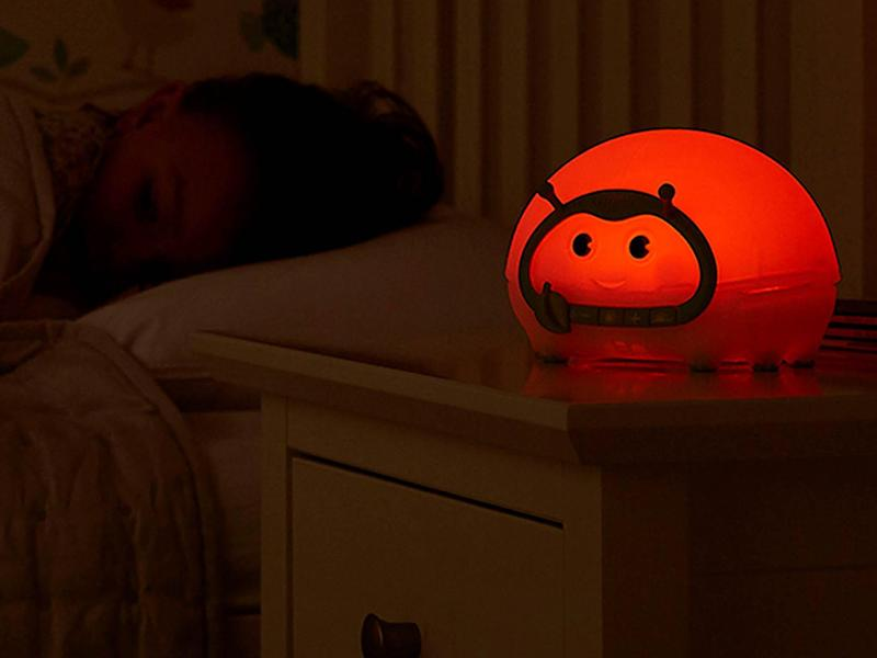 This sleep aid doubles up as a nightlight too (Lumie)