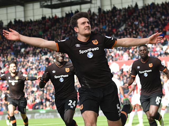 Harry Maguire rose to put Hull on level terms (Getty)