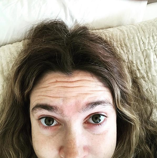 "<p><strong>When: July 31, 2017 </strong><br />Drew Barrymore shared a perfectly flawed <a rel=""nofollow"" href=""https://www.instagram.com/p/BXN993tBBrZ/"">makeup-free selfie</a> to Instagram on Monday, and social media is in love. ""How did I let it get this bad. Base and brows needed,"" the actress jokingly captioned with the photo. The close-up showcases Barrymore's slightly blemished skin, untamed brows and gray-tinged hair—it was an honest portrayal of how she looks first thing in the morning and fans appreciated her honesty (it received more than 96,000 likes in one day!)<br />""Thank you so much for being 'real',"" one fan commented. ""I just had a breakdown looking at myself in the mirror saying how did I let myself get like this. I can't begin to tell you how much this meant. You're beautiful."" <em>(Photo: Instagram)</em> </p>"