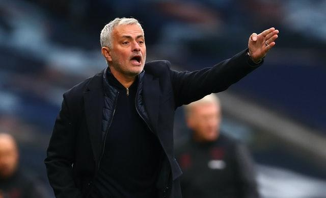 Tottenham manager Jose Mourinho could not believe his eyes as his side squandered a 3-0 lead against West Ham