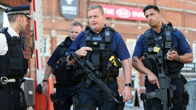 Police were called to the cricket ground on Thursday afternoon