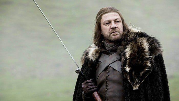 "Sean Bean in ""Game of Thrones"" Season 1."