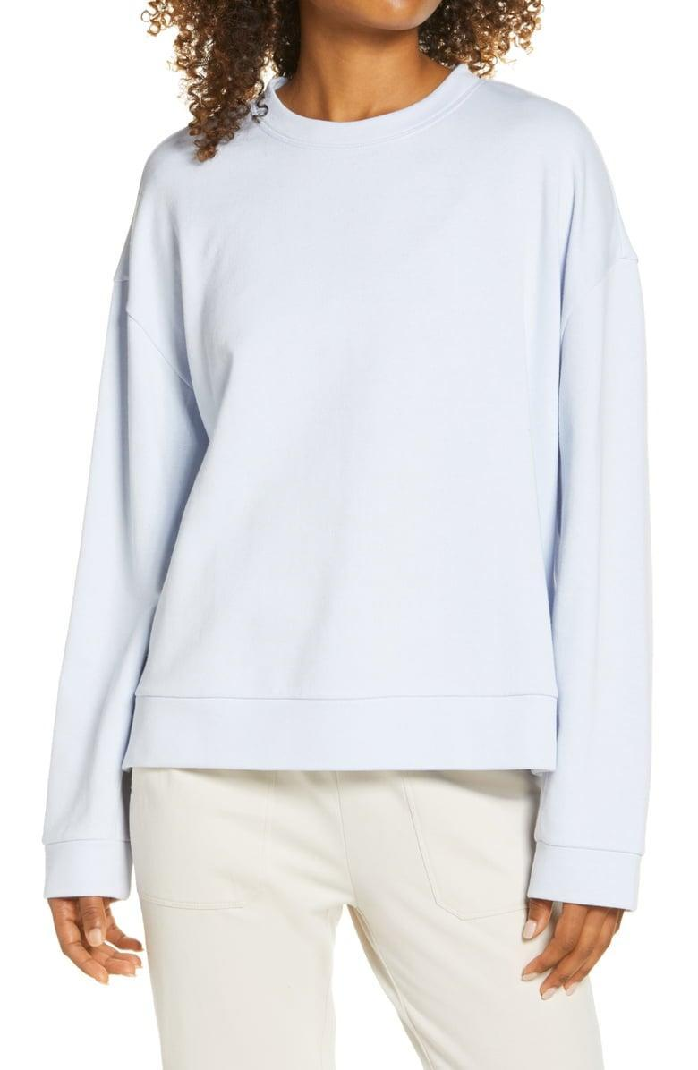 <p><span>Zella Coastal Side Split Crewneck Sweatshirt</span> ($29, originally $49)</p>
