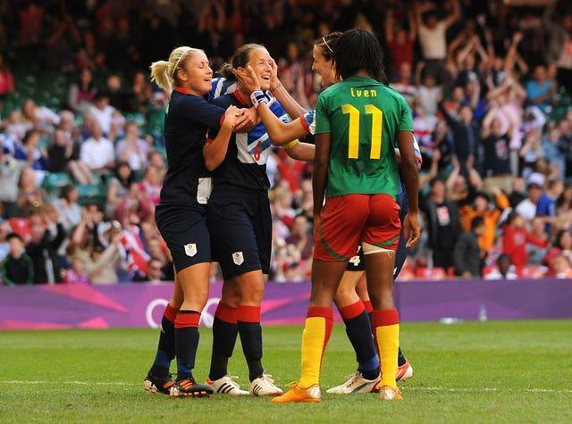 Casey Stoney has played at an Olympics for Great Britain