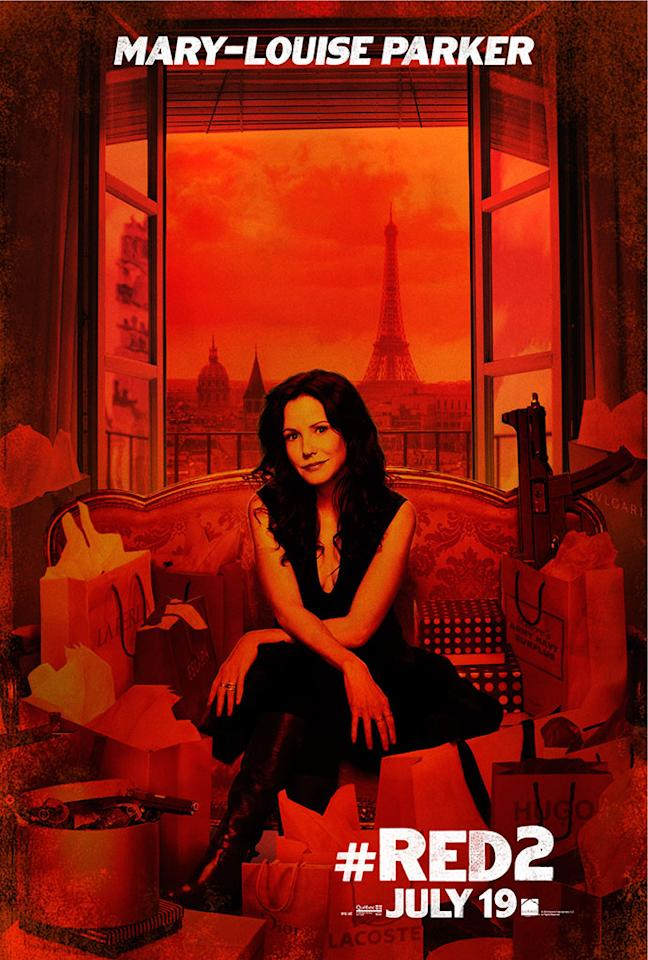 "Mary-Louise Parker in Summit Entertainment's ""RED 2"" - 2013"