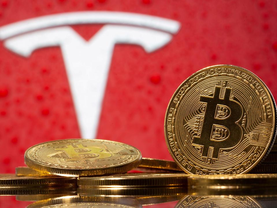 Tesla invested $1.5 billion in bitcoin in January 2021 (Reuters)