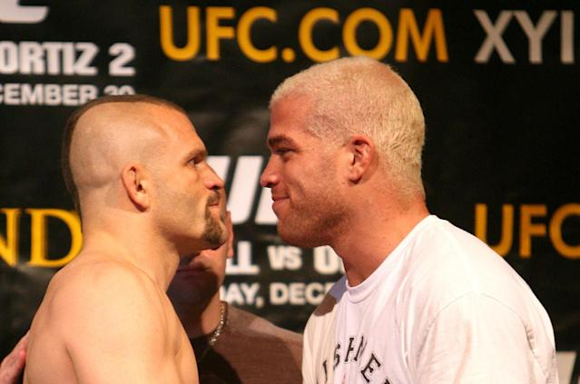 More than a decade after their last fight, Chuck Liddell and Tito Ortiz are going to complete their trilogy. (AP Photo)