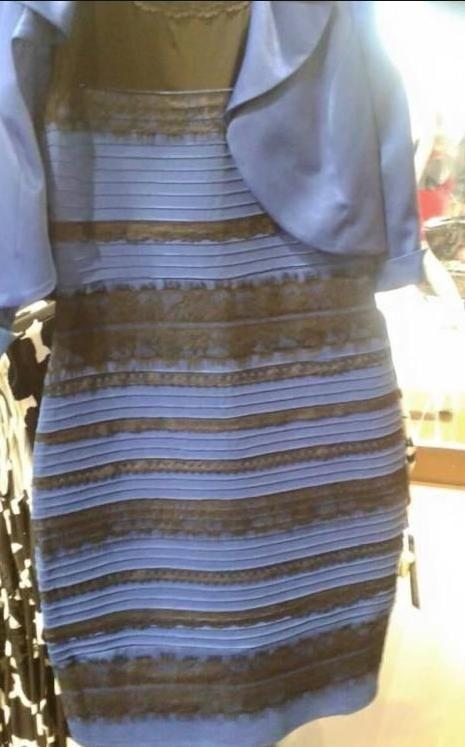 First it was this dress that kicked off a worldwide colour debate.