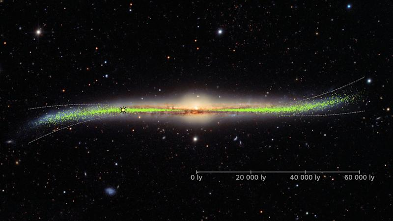 New 3D map of Milky Way suggests it is warped and twisted