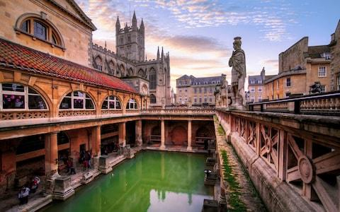 Roman Baths - Credit: Getty
