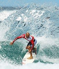 Kelly Slater won his 10th world surfing championship in 2010