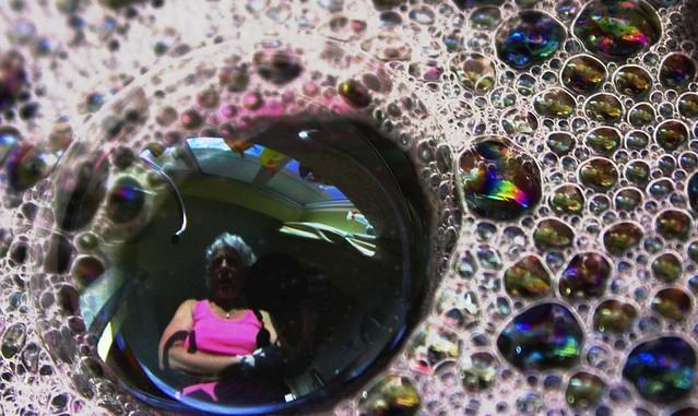 My Reflection in a Soap Bubble