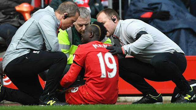 HD Sadio Mane knee injury