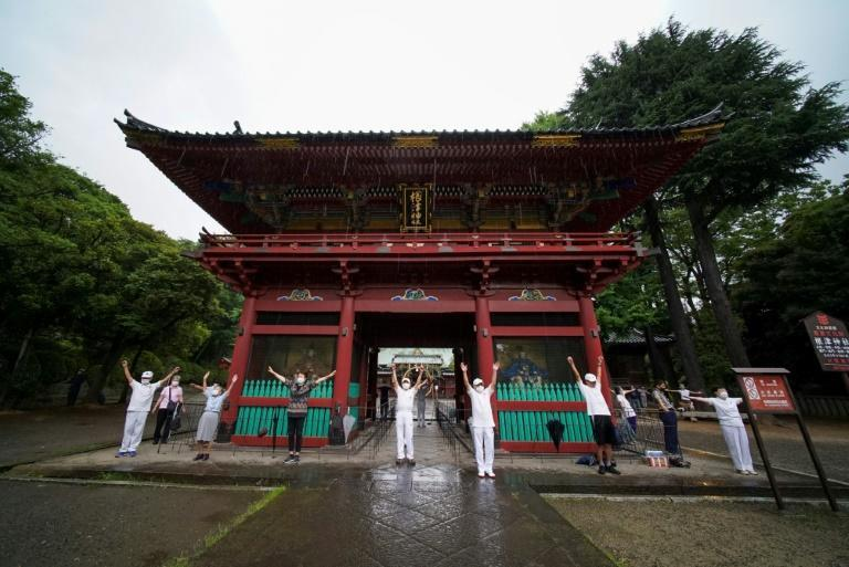 While workout videos and podcasts soared in popularity worldwide during virus lockdowns, Japan's taiso tradition dates back nearly 100 years