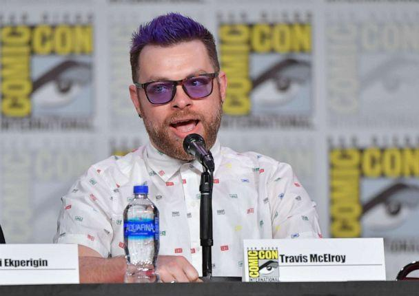 PHOTO: Travis McElroy speaks during 2019 Comic-Con International at San Diego Convention Center on July 18, 2019, in San Diego. (Amy Sussman/Getty Images, FILE)
