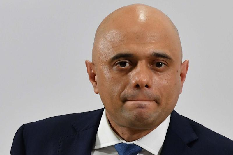 Chancellor of the Exchequer Sajid Javid: AFP via Getty Images