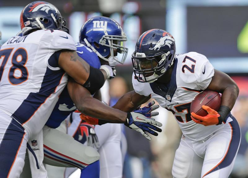Broncos lose LT Clady for season to foot injury
