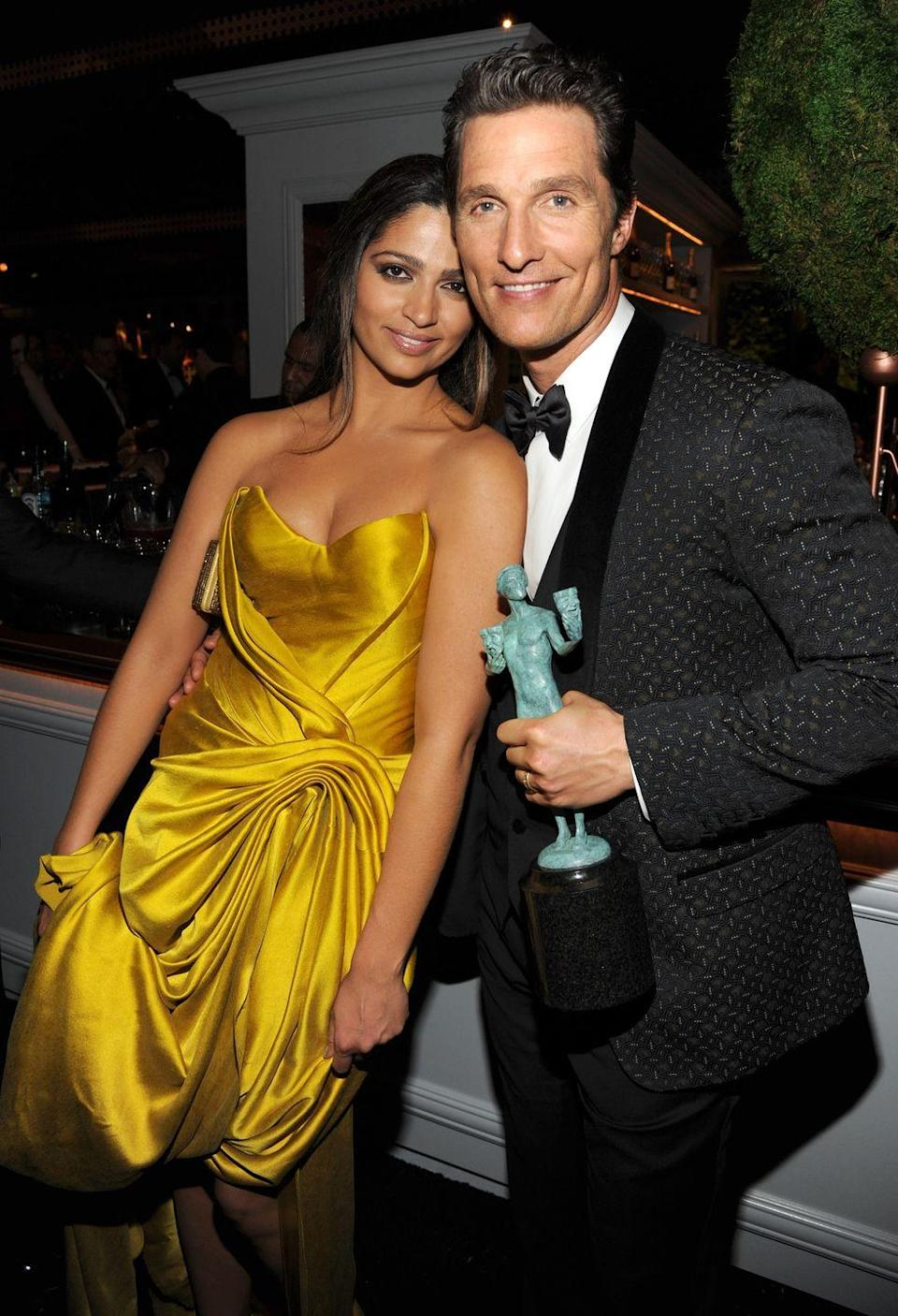 <p><strong>Age gap: </strong>13 years</p><p>While Matthew and Camila tend to keep their relationship and family out of the limelight, it seems like everything is <em>alright, alright, alright </em>with their age difference. The couple met in 2006 and got married in 2012, and now they have three children together.</p>
