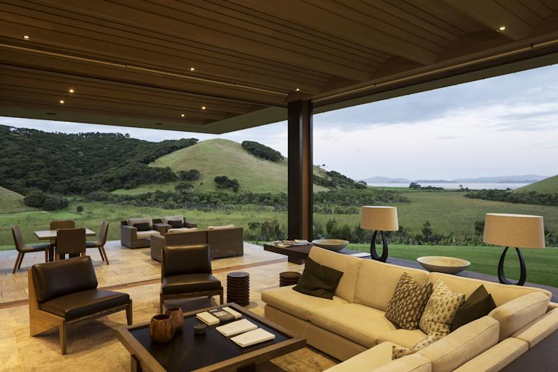 The Landing, a luxury retreat and vineyard in New Zealand's Bay of Islands.