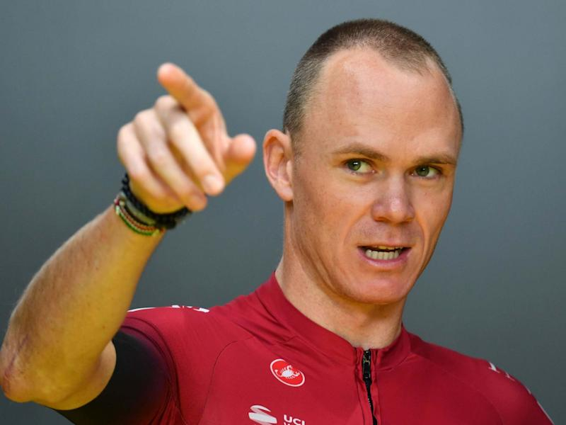 Britain's Chris Froome of Team Ineos: AFP via Getty Images