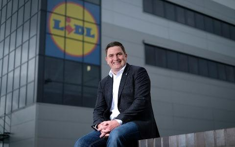 Lidl boss Christian Hartnagel has said he's ploughing £1.5bn into the UK