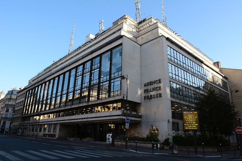 "AFP, whose headquarters are seen in Paris in 2015, said the European Data News Hub website ""aims to inform and inspire debate about events shaping the lives of people in Europe and across the world"""
