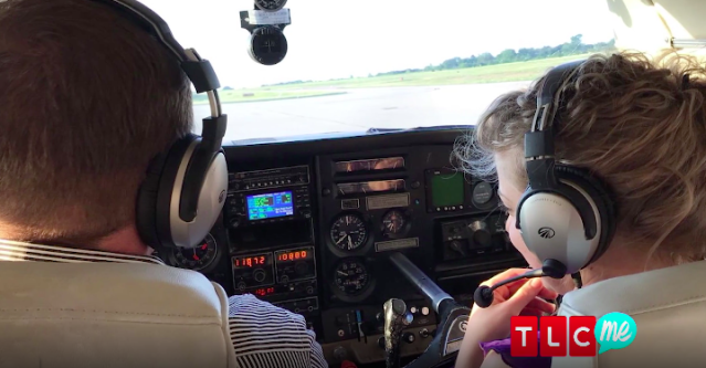John David Duggar and Abbie Burnett got to know each other when he flew to Oklahoma for a church event. (Image: TLC)