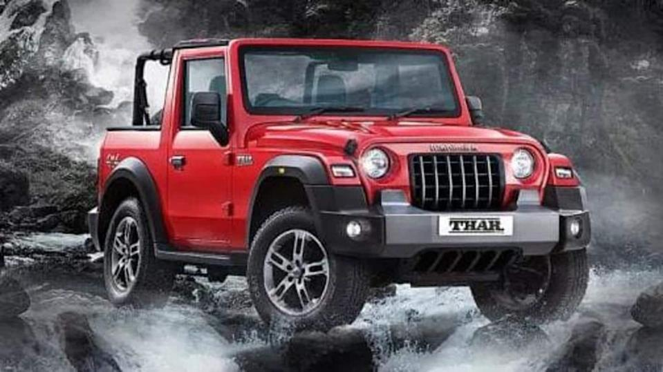 New-generation Mahindra Thar SUV spied testing in two new shades