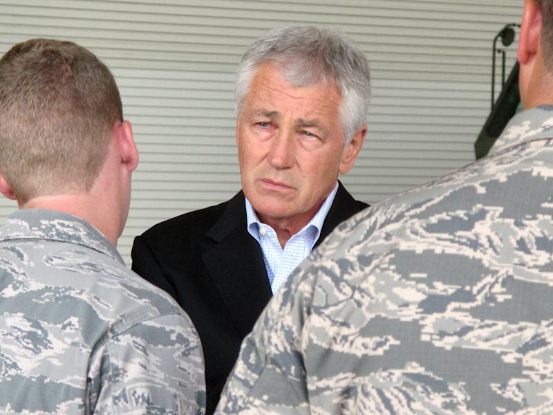 Hagel: Budget cuts could harm nation's defense