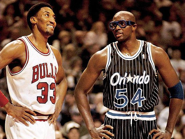 18ca7f3695af Scottie Pippen and Horace Grant laugh about Terry Francona. (Getty Images)