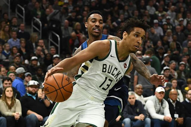 Malcolm Brogdon is reportedly leaving Milwaukee to join the Indiana Pacers. (Getty)