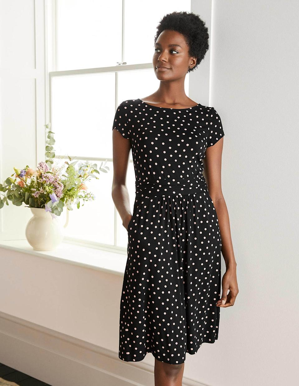 Boden's Amelie dress comes in various prints, patterns and colours.  (Boden)