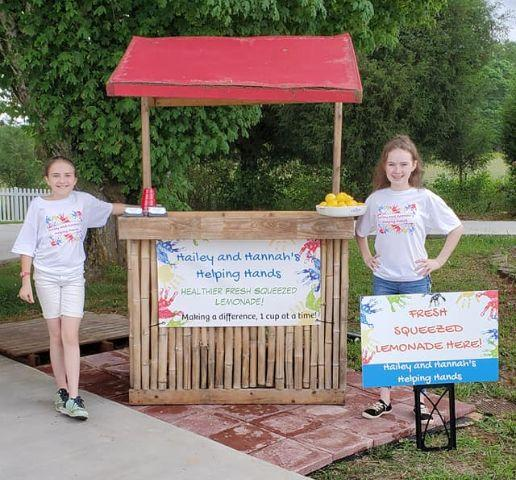 Two students in North Carolina are helping their school district pay off school lunch debt with a lemonade stand. (Photo: Facebook)
