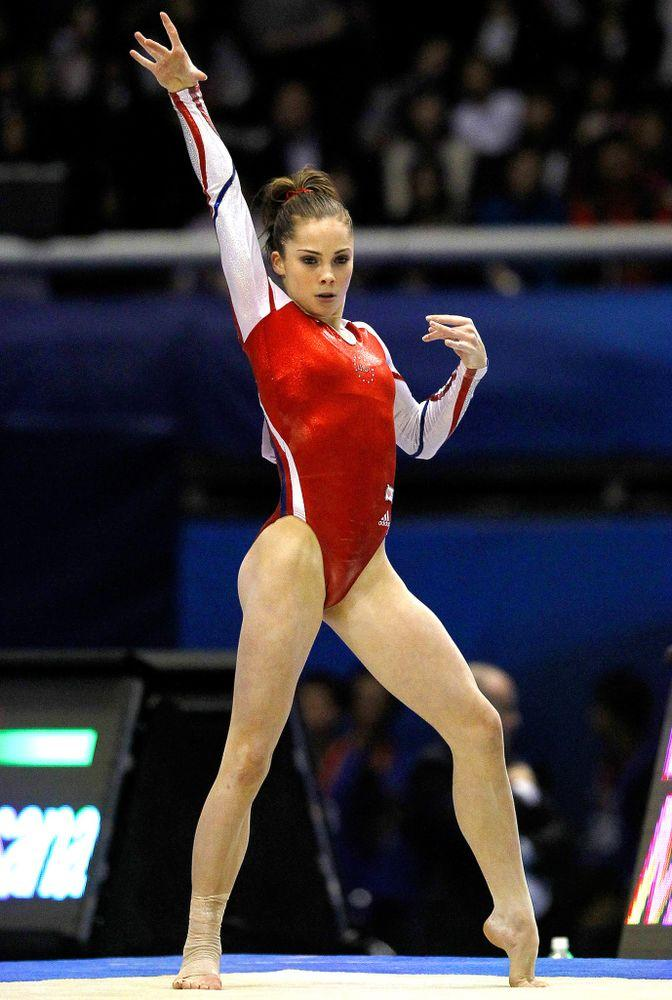 McKayla Maroney at the Artistic Gymnastics World Championships in Tokyo, Japan, in October 2011