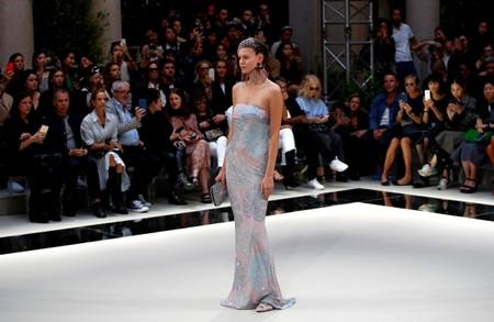 Armani Spring/Summer 2020 collection during fashion week in Milan