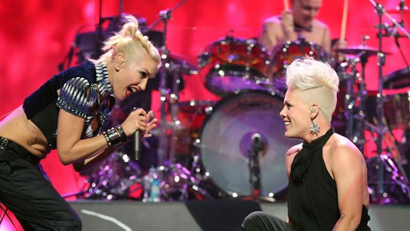 Gwen Stefani Joins Pink On Stage for Surprise Punk-Pop Performance of 'Just a Girl' -- Watch!