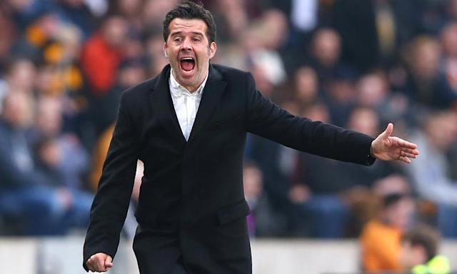 """<span class=""""element-image__caption"""">Marco Silva came in for criticism when he took over as the manager of Hull City but he has given the club a chance of escaping relegation.</span> <span class=""""element-image__credit"""">Photograph: Alex Livesey/Getty Images</span>"""
