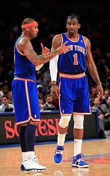 The Knicks already have two major stars in Carmelo Anthony and Amar'e Stoudemire. They could try to get a third in 2012