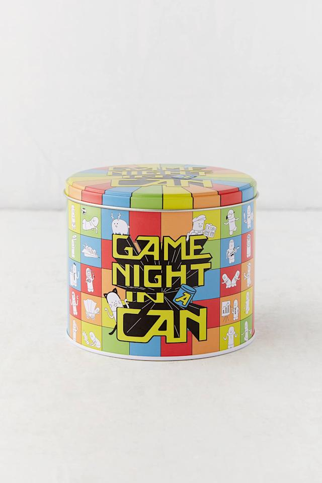 """<p>Whenever they're bored, the <a href=""""https://www.popsugar.com/buy/Game-Night-Can-526392?p_name=Game%20Night%20in%20a%20Can&retailer=urbanoutfitters.com&pid=526392&price=20&evar1=tres%3Aus&evar9=45263084&evar98=https%3A%2F%2Fwww.popsugar.com%2Flove%2Fphoto-gallery%2F45263084%2Fimage%2F46971957%2FGame-Night-in-Can&list1=shopping%2Cgifts%2Choliday%2Cgift%20guide%2Crelationships&prop13=api&pdata=1"""" rel=""""nofollow"""" data-shoppable-link=""""1"""" target=""""_blank"""" class=""""ga-track"""" data-ga-category=""""Related"""" data-ga-label=""""https://www.urbanoutfitters.com/shop/game-night-in-a-can?category=SEARCHRESULTS&amp;color=095"""" data-ga-action=""""In-Line Links"""">Game Night in a Can</a> ($20) will come in handy.</p>"""