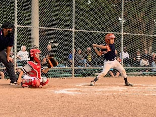 High Park Little League in action. (Submitted by Peter Paz - image credit)